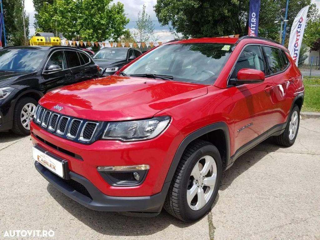 Jeep Compass Rosu