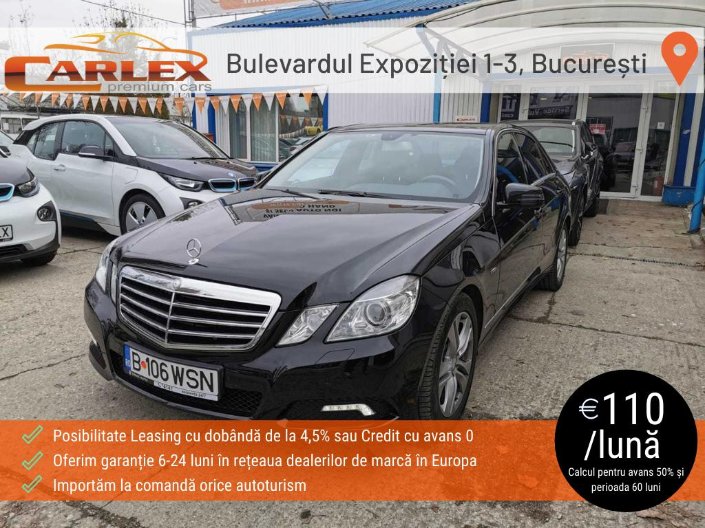 Mercedes E 350CDI BlueTec Avantgarde